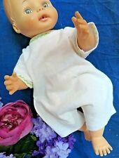"""VINTAGE girl BOY Baby DOLL ROMPER one piece UNDERWEAR night gown COTTON 12-14"""""""