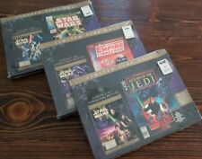 STAR WARS TRILOGY (DVD 2006 6 DISC COMIC BOOKS) ORIGINAL THEATRICAL VERSIONS NEW