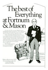 Publicité ancienne anglaise Best of Everything at Fortnum 1978  issue magazine