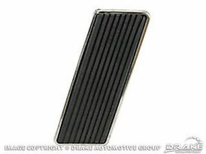 1964-1968 Ford MUSTANG Falcon Fairlane - Gas Pedal w/ Stainless Trim