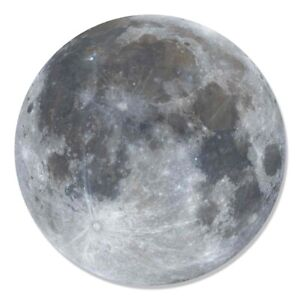 Full Moon Wall Mounted 3D Style Cardboard Cutout Decoration - Space Theme