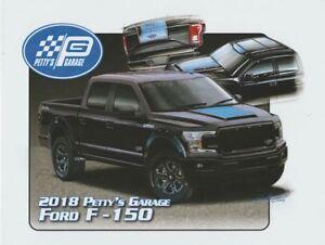 2018 Petty's Garage Ford F-150 SEMA Show Promo info card