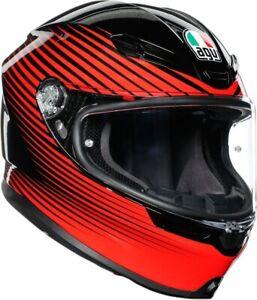 AGV K-6 Rush Helmet Motorcycle Street Bike