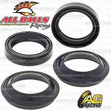 All Balls Fork Oil Seals & Dust Seals Kit For Suzuki VS 750 GLP Intruder 1990 90
