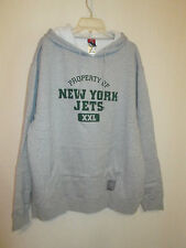 Reebok Property of the NY Jets Gray Thick Hoodie XL-Owned by Ladainain Tomlinson