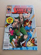 Nick Fury , Agent of S.H.I.E.L.D 4 . Marvel .1989 -  VF