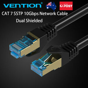 Cat7 Ethernet Network Male to Male  Dual SSTP Patch Cord Cable 1M 2M 3M 5M 10M