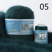 50g+20g Cashmere Hand Mink Wool Yarn Knitting Anti-pilling Soft Velvet Crochet