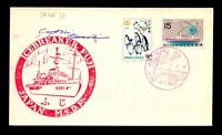 Japan Antarctic Cover - JARE 13 Cover / Captain Signed - L12959