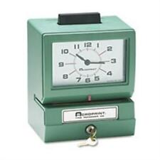Acroprint Time Recorder Model 125 Analog Manual Print Time Clock with Month-Date