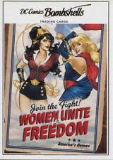 DC Comics Bombshells Copper Deco Base Card J08 Superman/Wonder Woman - Vol 1 #9