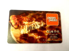 Pizza Pizza club 11-11 gift card BRAND NEW BILINGUAL RECHARGEABLE