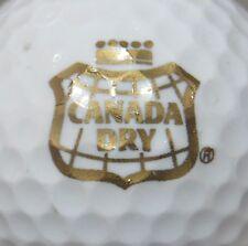 (1) Canada Dry Ginger Ale Logo Golf Ball