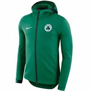 Authentic Nike Boston Celtics Mens NBA Showtime Dri-FIT Full-Zip Hoodie