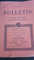 Rivista Notiziario Of I York Academy Of Medicina 1960 VL.36 N° 10