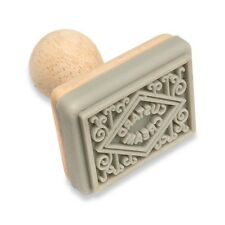 TIMBRO PER BISCOTTI-crema pasticcera la panna biscotto STAMP. a Casa Cottura