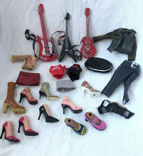 Bratz Doll LOT Of FASHION PACK Rock Angelz CLOTHES Shoes GUITARS Accessories