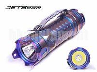 JETBeam JET II Pro Cree XP-L HI LED Titanium Ti 16340 Flashlight LIMITED PURPLE