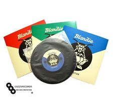 "50 7"" Inch Groovy's Vinyl Poly Inner Anti-Static Round Bottom Record Sleeves"