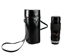 Canon Zoom LENS FD 300mm 1 : 5.6 f/5.6 f Vintage Manual Focus, with leather case