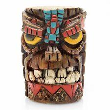Aztec Tiki Shift Knob w/ Adapters fits lokar b&m gennie hot rat street rod moon