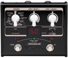 Vox SLIG StompLab IG Modeling Guitar Bass Effects Pedal Processor Built-In Tuner