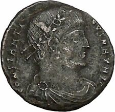 CONSTANTINE I the GREAT Ancient Roman Coin Military Camp gate  i42771