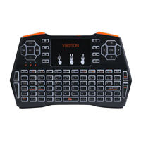 Viboton i8 Plus 2.4GHz Mini Keyboard Air Mouse Remote Control with Touchpad