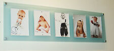 """Magnetic Cheshire acrylic wall multi picture photo frame baby  7 x 5/ 5 x 7 """""""