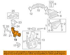 Acura HONDA OEM 09-14 TSX Air Cleaner Intake-Intake Duct Tube Hose 17250RL5A00