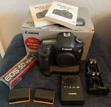 Canon EOS 5D Mark III w/OEM Battery Grip, Extras! 1,800 Actuations!