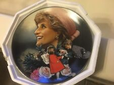 Franklin Mint Heirloom Princess Diana Of Wales England's Rose Plate