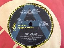 "THE ANGELS A RADIO PROMO 45 7"" ALBERT PRODUCTIONS DOC NEESON R.I.P. GEORGE YOUNG"