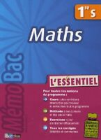Maths 1ère S : L'essentiel - Michel Szwarcbaum - 2731536