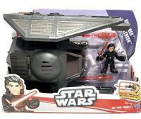 Star Wars Galactic Heroes Kylo Ren & Tie Silencer - Hasbro 2017 Vehicle Set Lot