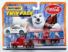 2000 Matchbox Convoy Twin Pack Opel Calibra / Mack CH600 / Coca-Cola