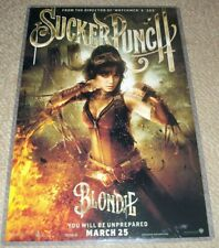 "Sucker Punch BLONDIE Movie Poster  : 11"" x 17""  -  Character Poster"