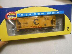 Athearn Chessie B&O PS 2003 Covered Hopper Car in Box HO 94423