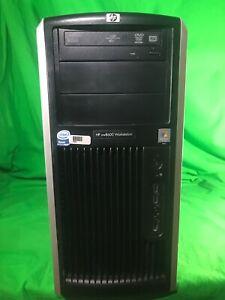 HP xw8600 workstation 8 cores 2x Xeon X5460 3.16GHz 4GB 250GB Quadro FX Win10