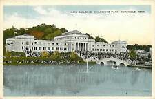 Tennessee, Tn, Knoxville, Main Building, Chilhowee Park 1915 Postcard