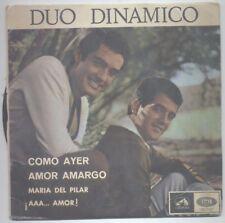 DUO DINAMICO COMO AYER+3 7LEG 6045  EDICIÓN PORTUGUESA PORTADA DIFERENTE