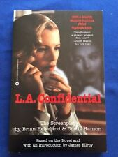 L.A. CONFIDENTIAL: THE SCREENPLAY- 1ST ED SIGNED BY JAMES ELLROY & CURTIS HANSON