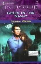 Cries in the Night (The Colby Agency)-ExLibrary