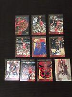 1994-95 UPPER DECK MICHAEL JORDAN HEROES OF BASKETBALL 10-CARD SET HOF BULLS