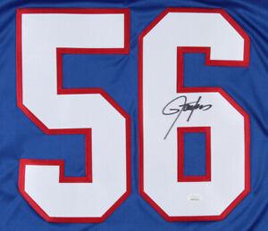 Lawrence Taylor New York Giants HOFer hand signed jersey JSA