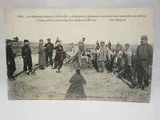 CARTE POSTALE POILUS MILITAIRE GUERRE 1914 1918 CPA MILITARIA WW1 PRISONNIERS