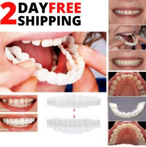 Veneers Top Bottom Cosmetic Instant Smile Braces Snap On Smile Fake Teeth