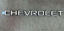 New Genuine GM OEM NOS CHEVROLET Nameplate Emblem WHITE & BLACK