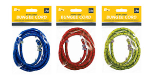 BUNGEE CORD WIRES STRAP 1.8M ELASTICATED STRETCH ROPE 30kg LOAD HEAVY DUTY DIY