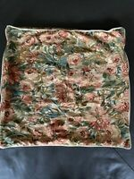 Vintage RL Ralph Lauren Floral Euro Pillow Sham Made In Italy